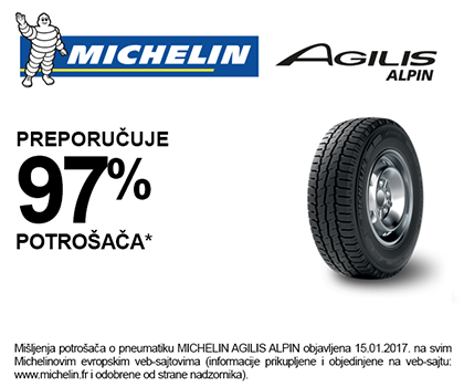 Michelin Agilis Aplin Rate