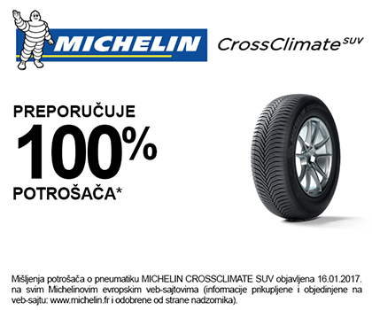 Michelin CrossClimate rating