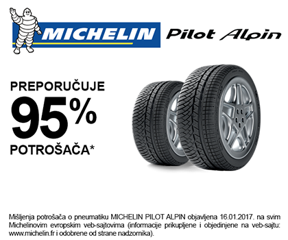 Michelin Pilot Alpin rating