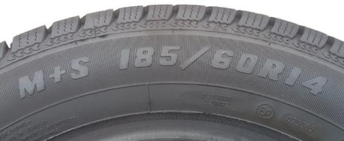 Oznaka na gumi