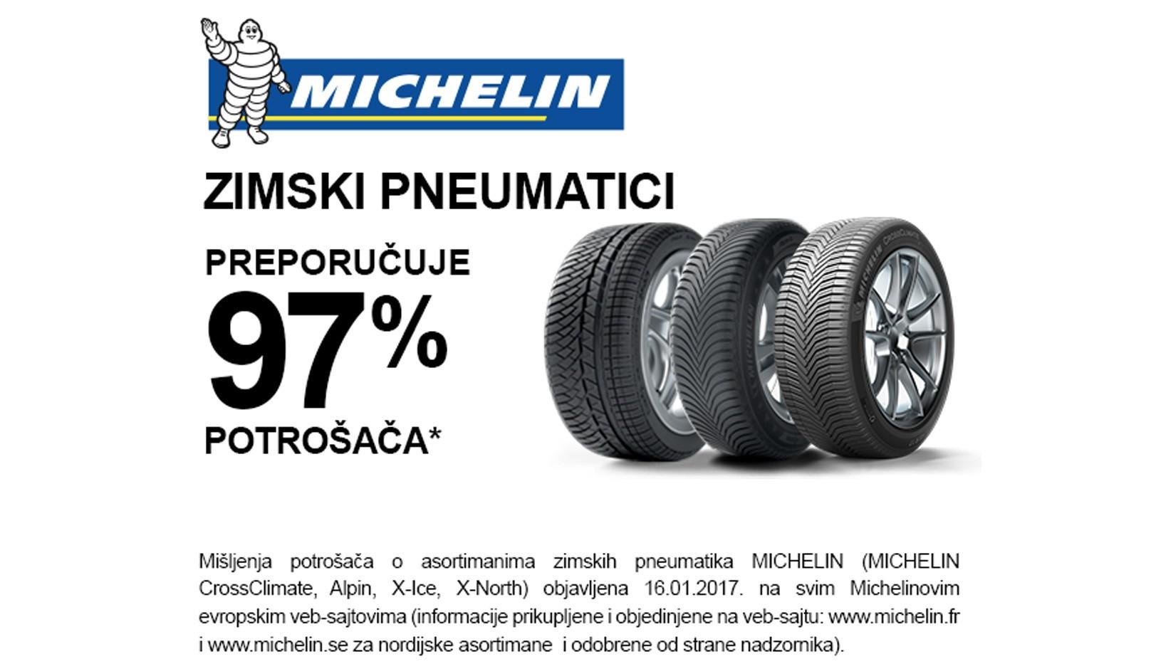 Michelin zima 2017-2018